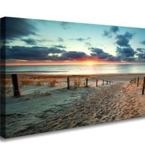 Other - NEW - Sandy beach canvas print